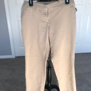 Apt 9 khaki slacks with pockets